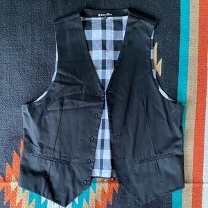 The Buckle Carbon Black Dress Vest